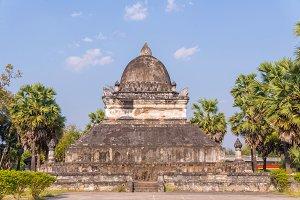 Wat Wisunarat Luang Prabang Laos.