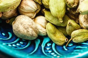 Various Cardamom Spices