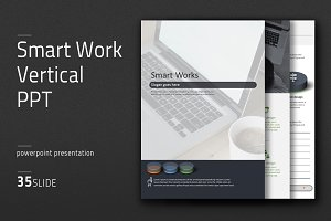 Smart Work Vertical PPT