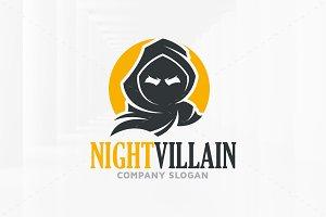Night Villain Logo Template