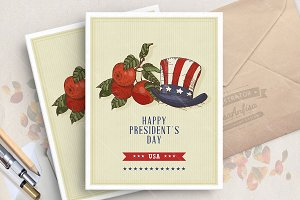 Happy President's Day card