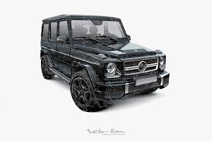 Mid-size luxury SUV