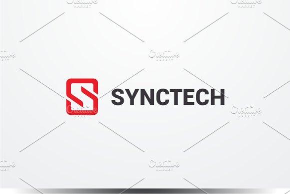 Sync Tech - Letter S Logo
