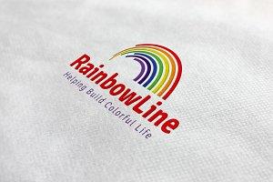 Rainbow Line Logo