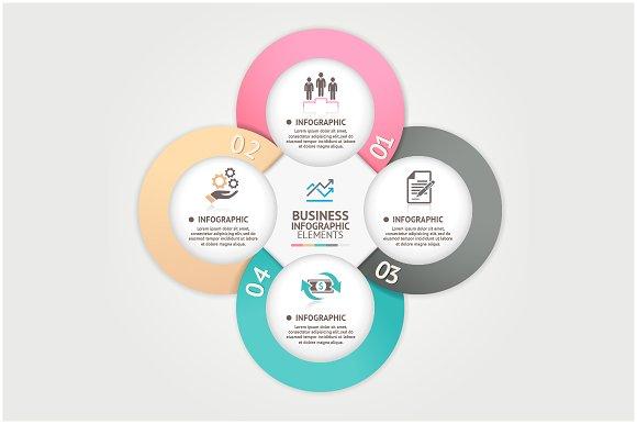 Business Circle Infographic Template