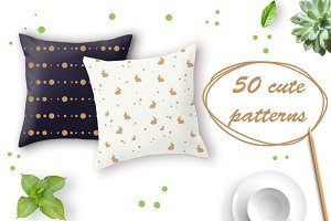 50 cute patterns