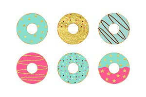 Donut Set Card