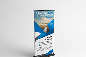 Creative PSD Roll-up Banner