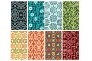 floral pattern set 2