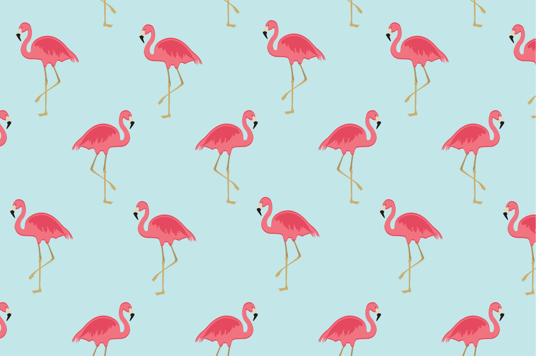 Flamingo Seamless Pattern Patterns Creative Market