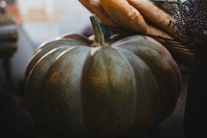Art autumn Pumpkin
