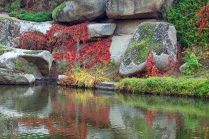 Autumn Sofiivka park (Ukraine)