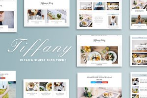 Tiffany - Clean & Simple Blog Theme
