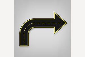 Road Arrow