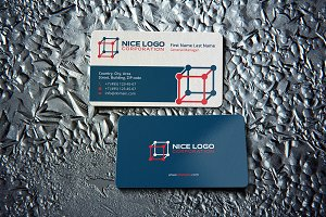 cube business card