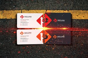 parking business card