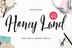 Honey Land Typeface