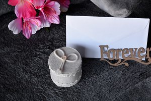 love letter with gift of ring