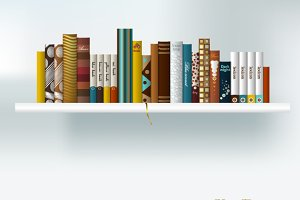 Book schelf.