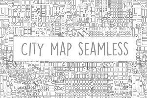 City map pattern