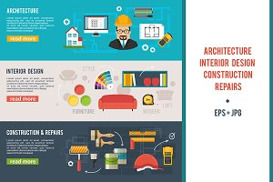 Architecture, Interior Design banner