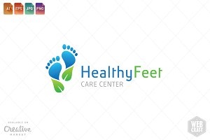 Podiatry Logo Template 16