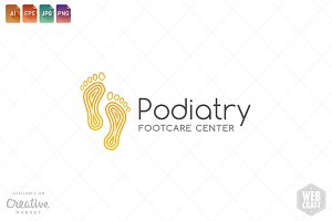Podiatry Logo Template 17