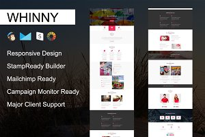 WHINNY - Responsive Email Template