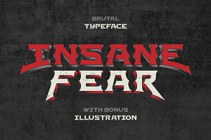 Insane Fear font