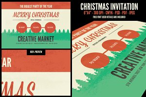 Christmas Invitation & PostCard