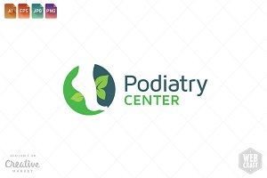 Podiatry Logo Template 18