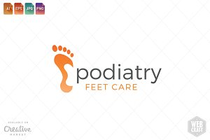 Podiatry Logo Template 19