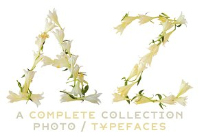 NT Lily -a multicolor photo/typeface