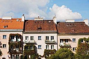 vintage european houses