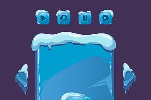 User interface for winter game