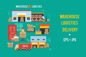 Warehouse, Logistics, Delivery