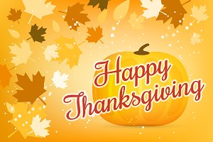 Thanksgiving day vector illustration