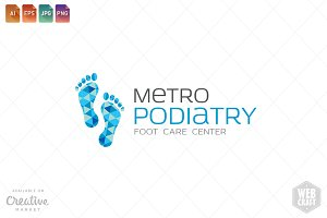 Podiatry Logo Template 20