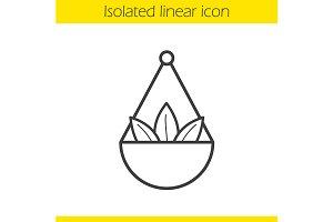 Apothecary herbs icon. Vector