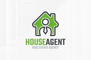 House Agent Logo Template