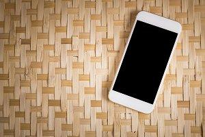 Blank smartphone
