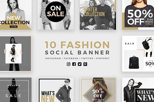 Fashion Social Banner Pack