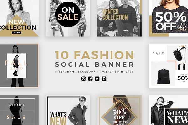 Fashion Social Banner Pack