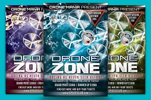 Drone Zone Flyer Template