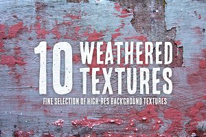 10 Weathered Textures