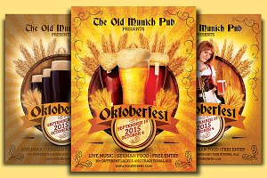 Oktoberfest Munich Flyer Template