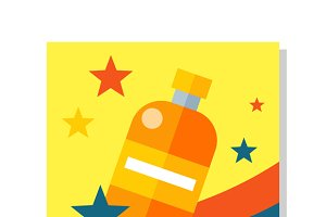 Bottle Icon Symball
