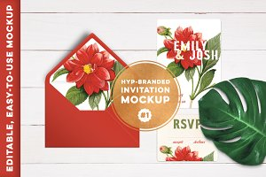 HYP-branded Invitation Mockup #1