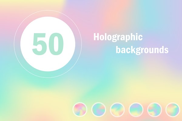 50 Holographic backgrounds