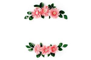 Gerbera daisy frame